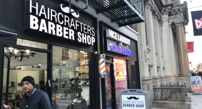 Crafters Barbershop Custom Channel Letter Sign In Manhattan NY